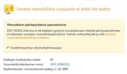 Nod32 ea page update 05 Päivitä