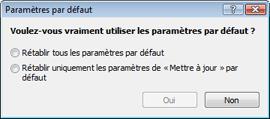 Nod32 ea default2 Parametres par défaut 2