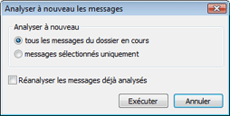 Nod32 ea dialog mailplugins processing messages Analyser a nouveau les messages