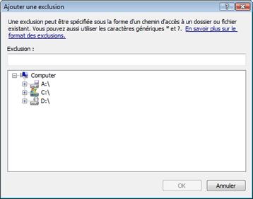 Nod32 ea exclude Ajouter ou modifier des exclusions