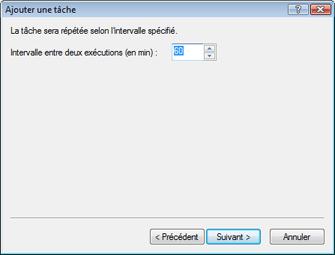 Nod32 ea scheduler repeat Ajouter une tâche   plusieurs fois