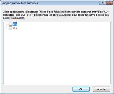 Nod32 ea usb devices amon Configuration du blocage des supports amovibles