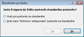 Nod32 ea default2 Standardne postavke 2