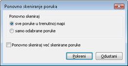 Nod32 ea dialog mailplugins processing messages Ponovo skeniraj poruke