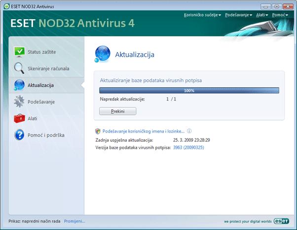 Nod32 ea page update 02 Aktualizacija