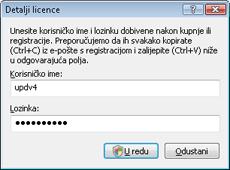 Nod32 ea settings update username Detalji licence