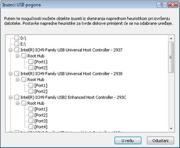 Nod32 ea usb devices amon Postavljanje blokade izmjenjivih medija