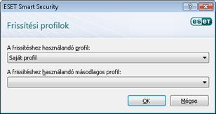Nod32 config update sched Frissítési profilok