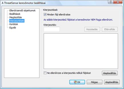 Nod32 ea config extension Kiterjesztés