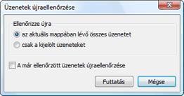 Nod32 ea dialog mailplugins processing messages Üzenetek újraellenőrzése