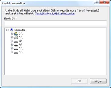Nod32 ea exclude Kivételek felvétele vagy szerkesztése
