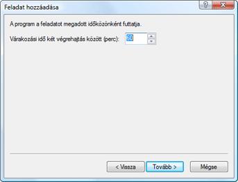 Nod32 ea scheduler repeat Feladat hozzáadása – ismétlődően