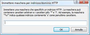 Nod32 ea config epfw url set manager Elenchi indirizzi/maschere HTTP
