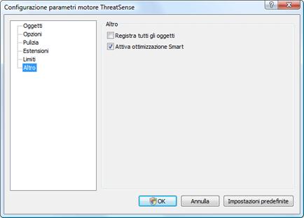 Nod32 ea config system Altro