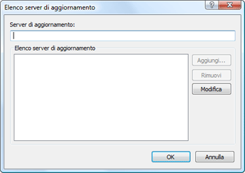Nod32 ea config update servers Elenco server di aggiornamento