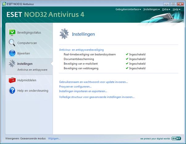 Nod32 ea page advanced settings Inleiding tot gebruikersinterface ontwerp