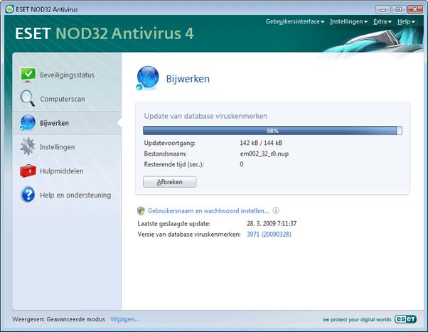 Nod32 ea page update 02 Update