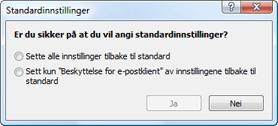 Nod32 ea default2 Standardinnstillinger 2