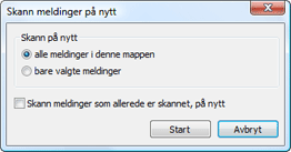Nod32 ea dialog mailplugins processing messages Skann meldinger på nytt