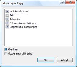 Nod32 ea log filter Loggfiltrering