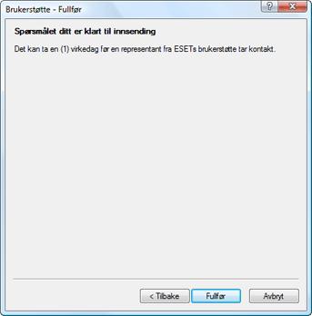 Nod32 ea support finish Fullføre