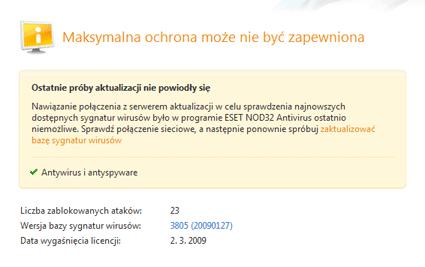 Nod32 ea page update 05 Aktualizacja