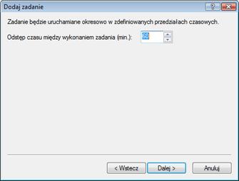 Nod32 ea scheduler repeat Dodaj zadanie — wielokrotnie