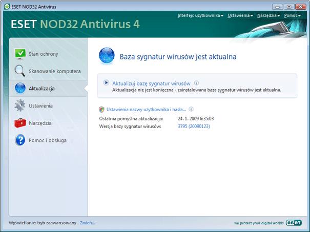 Nod32 ea update main Aktualizacja
