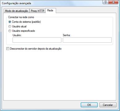 Nod32 ea config update lan Conexão de acesso à LAN