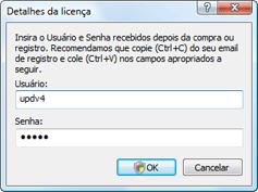 Nod32 ea settings update username Detalhes da licença