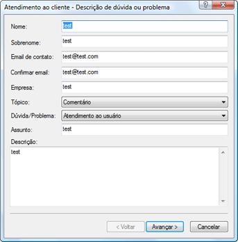 Nod32 ea support request Solução de problemas