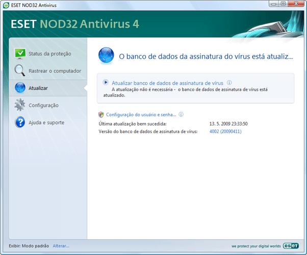 Nod32 ea update main Atualizar
