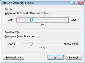 Nod32 ea config desktop Setarea notificărilor de desktop