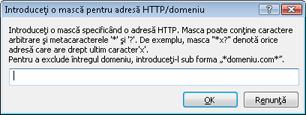 Nod32 ea config epfw url set manager Liste de adrese HTTP/măşti