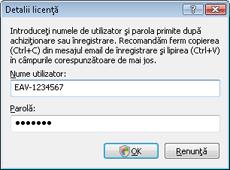 Nod32 ea settings update username Introducere Nume de utilizator şi parolă