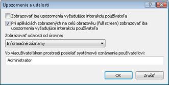 Nod32 config advanced alert Rozšírené nastavenia