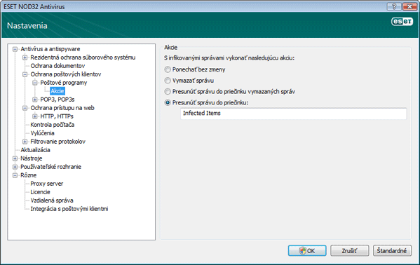 Nod32 ea config emon outlook Akcie