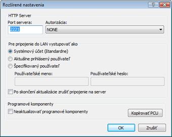 Nod32 ea config update mirror advance Rozšírené nastavenia   mirror