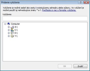 Nod32 ea exclude Pridanie alebo editovanie vylúčenia