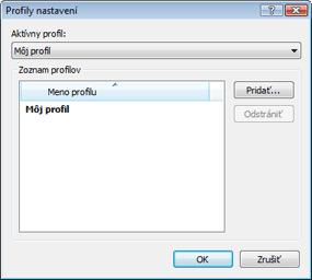 Nod32 ea profile manager Manager profilov
