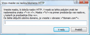 Nod32 ea config epfw url set manager Seznami naslovov HTTP/mask