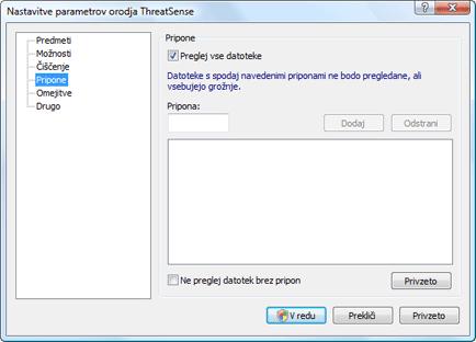 Nod32 ea config extension Pripona