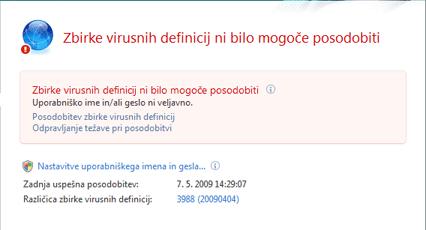 Nod32 ea page update 04 Posodobi