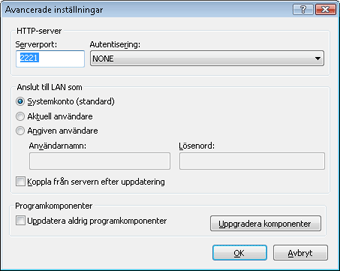 Nod32 ea config update mirror advance Uppdatera från speglingen