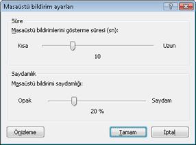 Nod32 ea config desktop Masaüstü bildirim kurulumu