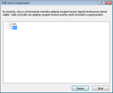Nod32 usb devices amon Çıkarılabilir medya engelleme ayarları