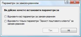 Nod32 ea default2 Параметри за замовчуванням 2