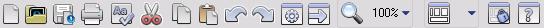 Omnipage tb st Standard toolbar