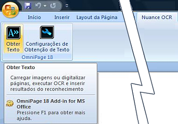 Omnipage eng word%202007%20vista Uso do Direct OCR