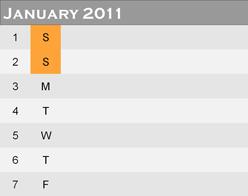 PagePlus calendar01 Inserting a calendar